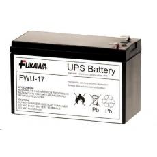 Baterie - FUKAWA FWU-17 náhradní baterie za RBC17 (12V/9Ah), životnost 5let