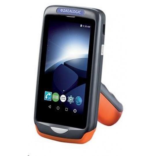 Datalogic Joya Touch Basic, 2D, Wi-Fi, NFC, Gun, červená, grey, WEC 7