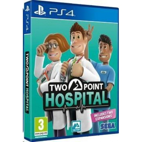 PS4 hra Two Point Hospital