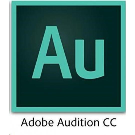 ADB Audition CC MP Multi Euro Lang TM LIC SUB RNW 1 User Lvl 1 1-9 Month
