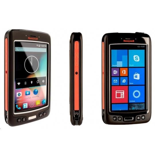 Honeywell Dolphin 75e, 2D, BT, Wi-Fi, NFC, ext. bat., Android