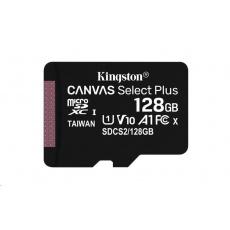 Kingston 128GB micSDXC Canvas Select Plus 100R A1 C10 - 1 ks