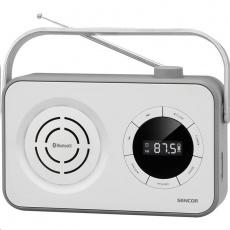 Sencor SRD 3200W Radiopřijímač bílý