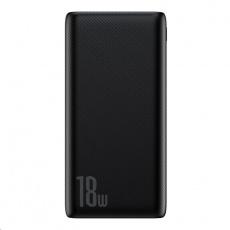 Baseus Bipow powerbanka PD + QC 10000mAh 18W, černá