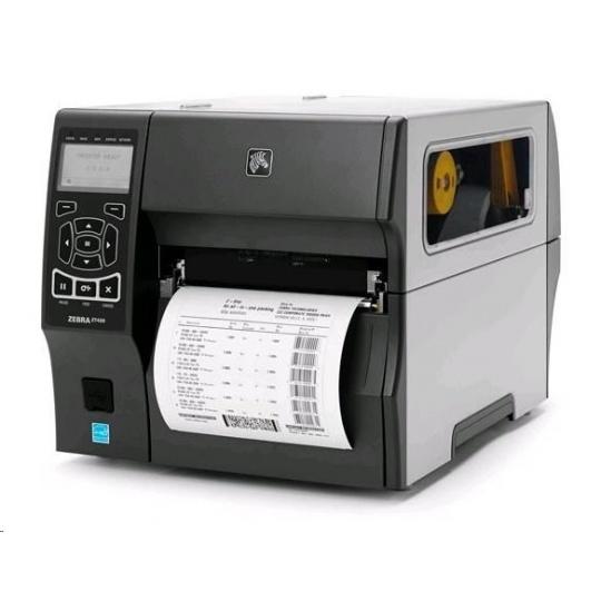 "Zebra TT průmyslová tiskárna ZT420, 6"", 203 dpi, RS232, USB, Bluetooth, EZPL, LAN"