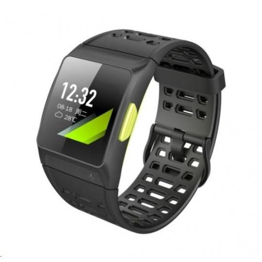 "UMAX U-Band P1 GPS - 1.3"" Dotykový barevný Displej, pásek 250mm, USB kabel s magnetem, BT, Baterie 250mAh"