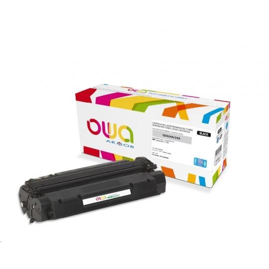OWA Armor toner pro HP Laserjet 1150, 4000 Stran, Q2624A JUMBO, černá/black