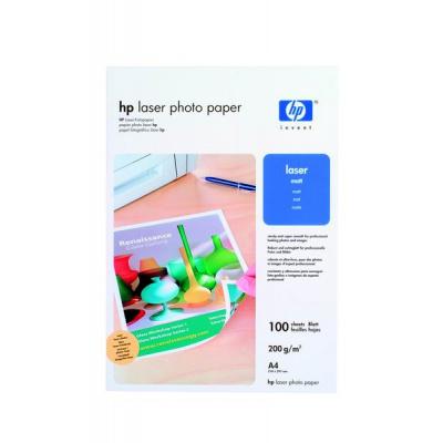 HP Professional Matt Laser Photo Paper-100 sht/A4/210 x 297 mm, 200 g/m2, Q6550A
