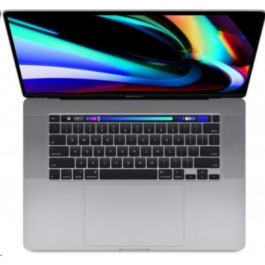APPLE MacBook Pro 16 Touch Bar/8-core i9 2.4GHz/32GB/2TB SSD/Radeon Pro 5500M w 8GB - Sp.Grey - SK KB