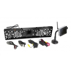 Technaxx parkovací kamerový systém s monitorem, bezdrátový nebo kabelový