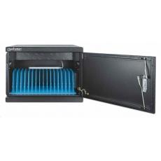 Manhattan nabíjecí skříňka, UVC High-Power Charging Cabinet, 16 USB-C portů, 1040 W, černá