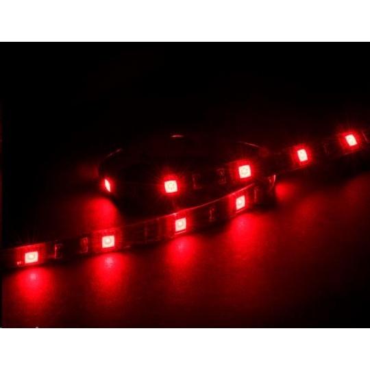 AKASA LED pásek Vegas M, magnetický, 50cm,  červený