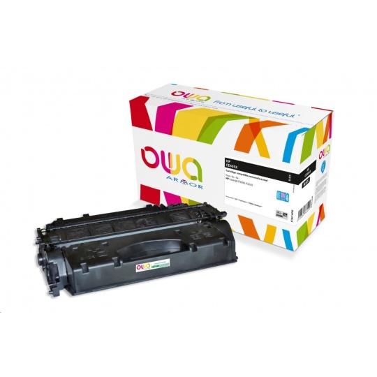 OWA Armor toner pro HP Laserjet P2050, P2055, 13000 stran, CE505X JUMBO, černá/black