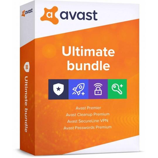 _Nová Avast Ultimate Multi-Device 1 licence na 36 měsíců (až na 10 PC )