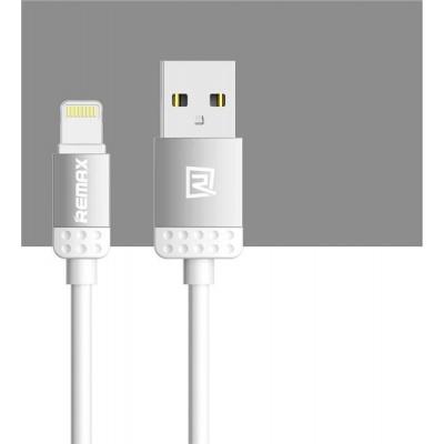 REMAX datový kabel 1m dlouhý,  řada Lovely,  micro USB, barva šedá
