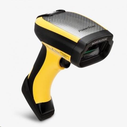 Datalogic PowerScan PD9531-HP, 2D, HD, LR, SR, WA, multi-IF, black, žlutá