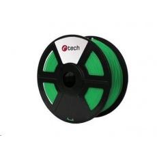 C-TECH Tisková struna (filament) ABS, 1,75mm, 1kg, zelená