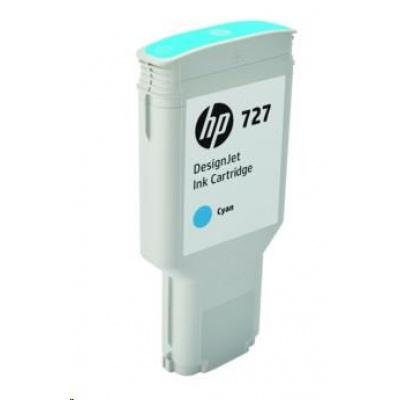 HP 727 300-ml Cyan DesignJet Ink Cartridge