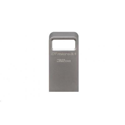 Kingston 32GB USB 3.0 DataTraveler Micro 3.1 - kovový
