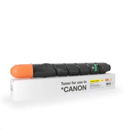 OWA Armor toner pro CANON  iR ADVANCE C5030/5035/ C5235/5240, 27000 stran, C-EXV29 Y, žlutá/yellow