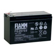 Baterie - Fiamm FG20722 (12V/7,2Ah - Faston 250), životnost 5let