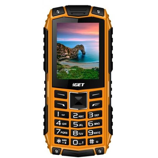 iGET Defender D10, Dual SIM, Orange