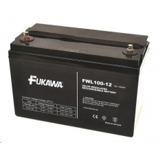 Baterie - FUKAWA FWL 100-12 (12V/100Ah - M8), životnost 10let