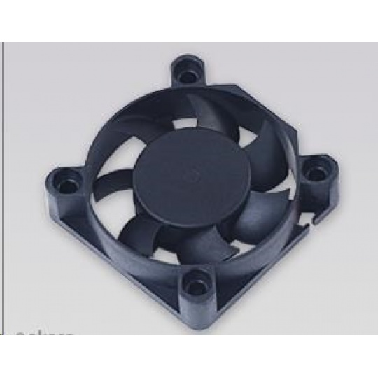 AKASA ventilátor 4cm Black Fan, 40x40x10mm, Sleeve bearing, 24.87 dBA, 3 pin