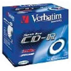 BAZAR - VERBATIM CD-R(10-Pack)Jewel/Printable/DLP/52x/700MB- poškozený obal