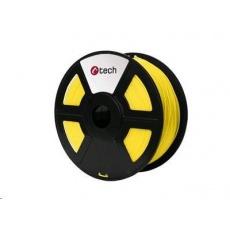 C-TECH Tisková struna (filament) ABS, 1,75mm, 1kg, žlutá