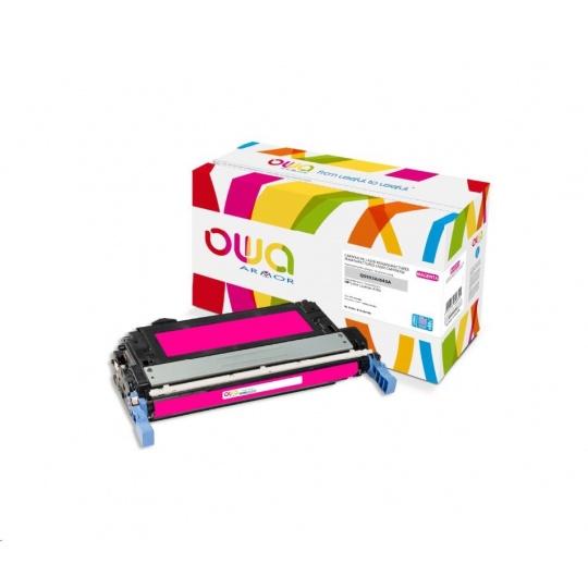 OWA Armor toner pro HP Color Laserjet 4700, 15000 Stran, Q5953A JUMBO, červená/magenta