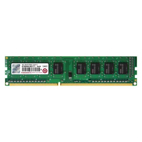 DIMM DDR3 4GB 1333MHz TRANSCEND 1Rx8 CL9