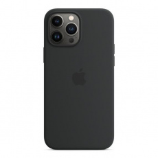 APPLE iPhone 13 Pro Max Silicone Case with MagSafe – Midnight