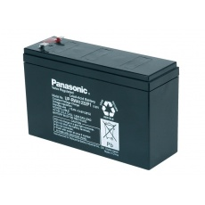 Baterie - Panasonic UP-RWA1232P2 (12V/7Ah-32W/čl. - Faston 250), životnost 6-9 let