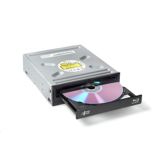 HITACHI LG - interní mechanika BD-W/CD-RW/DVD±R/±RW/RAM/M-DISC BH16NS55, Black, box+SW