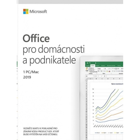 Microsoft Office Home and Business 2019  (pro podnikatele) ESD