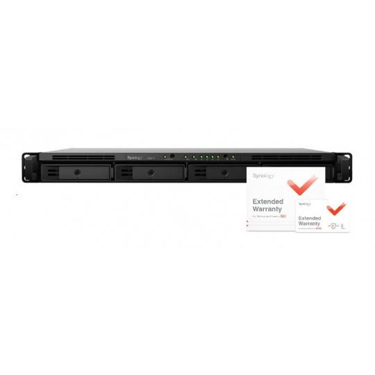 Synology RS819 RackStation (4C/RealtekRTD1296/1,4GHz/2GBRAM/4xSATA/2xUSB3.0/1xeSATA/2xGbE) + záruka 5 let
