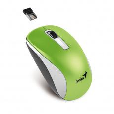 GENIUS myš NX-7010 Green Metallic/ 1200 dpi/ Blue-Eye senzor/ bezdrátová/ zelená