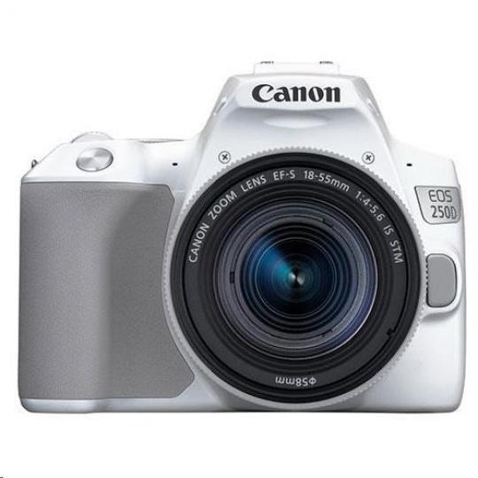Canon EOS 250D zrcadlovka + 18-55 IS STM - bílá