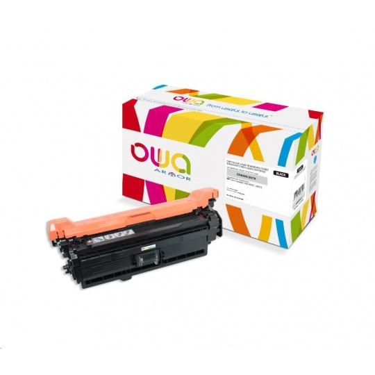 OWA Armor toner pro HP Color Laserjet Ese 500 M551, M575, 11000   Stran, CE400X, černá/black