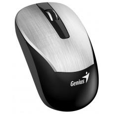 GENIUS myš ECO-8015/ 1600 dpi/ dobíjecí/ bezdrátová/ stříbrná