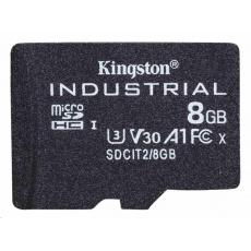 Kingston 8GB microSDHC Industrial C10 A1 pSLC Card Single Pack
