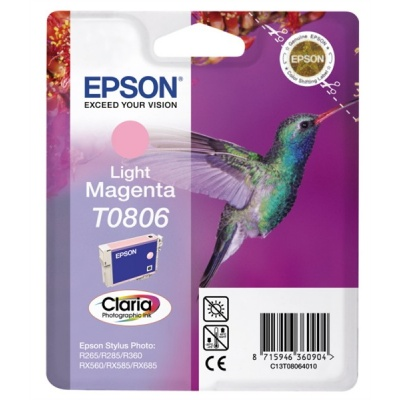 "EPSON ink bar CLARIA Stylus photo ""Kolibřík"" R265/ RX560/ R360 - light magenta"