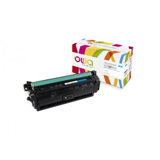 OWA Armor toner pro HP Color Laserjet Ese M552, M553, MFP M577, 5000 Stran, CF361A, modrá/cyan
