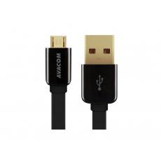 AVACOM MIC-40K kabel USB - Micro USB, 40cm, černá