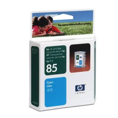 HP 85 Cyan DJ Ink Cart, 28 ml, C9425A