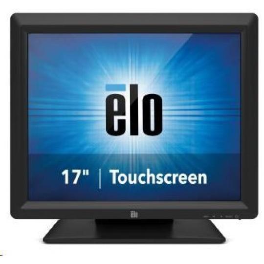 "ELO dotykový monitor 1717L, 17"" dotykové LCD, IntelliTouch, USB&RS232, black"