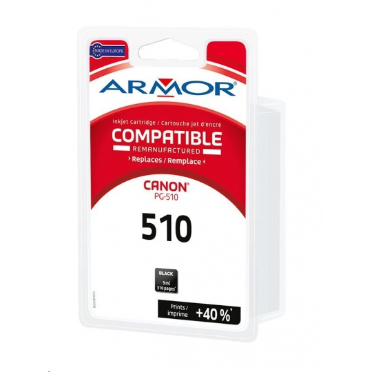 ARMOR cartridge pro CANON Pixma MP250, MP270 (PG510) black 9ml
