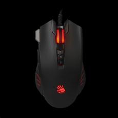 A4tech herní myš BLOODY V9M, až 4000DPI, V-Track technologie, 160KB paměť, USB, CORE 2, kovové podložky