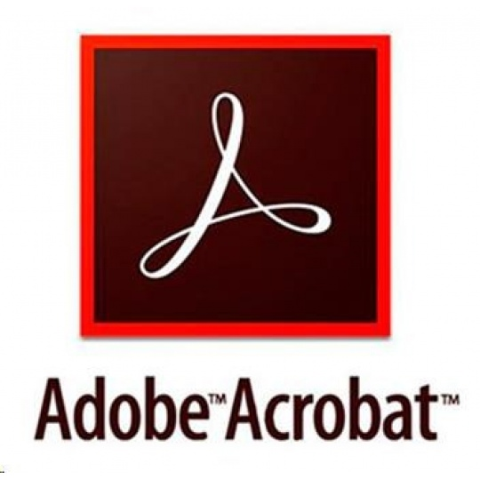 Acrobat Pro DC MP Multi Euro Lang TM LIC SUB New 1 User Lvl 12 10-49 Month (VIP 3Y)